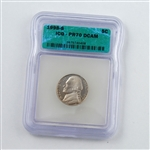 1998 Jefferson Nickel - PROOF - Certified 70