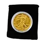 24 Karat Gold Walking Liberty Half Dollar