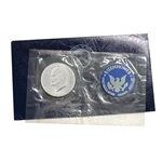1972 Eisenhower Dollar - San Francisco - Silver - Blue Pack