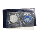1973 Eisenhower Dollar - San Francisco - Silver - Blue Pack