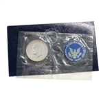 1974 Eisenhower Dollar - San Francisco - Silver - Blue Pack