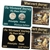 2004 Westward Peace Nickel Gold & Platinum 2pc Set