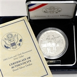 2004 Lewis & Clark Commemorative Silver Dollar - PROOF