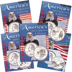 2002 Set of 5 State Quarter Albums
