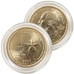 2004 Texas 24 Karat Gold Quarter - Denver