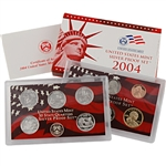 2004 US Silver Proof Set - Modern (11 pc)
