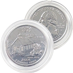 2004 Iowa Platinum Quarter - Philadelphia Mint