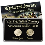 2000 Sacagawea Dollar - Philadelphia & Denver Mint Set