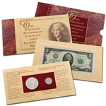 1993 Jefferson Coin & Currency Set