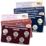 2004 Quarter Mania Set - Philadelphia and Denver Mint