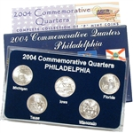 2004 Quarter Mania Uncirculated Set - Philadelphia Mint