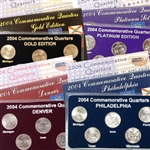 2004 Quarter Mania Uncirculated Set - Standard (4 Sets)
