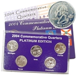 2004 Quarter Mania Uncirculated Set - Plat - P Mint