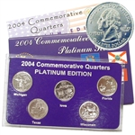 2004 Quarter Mania Uncirculated Set - Platinum D Mint