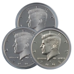 2003 Kennedy Half Dollar 3 pc PDS Set