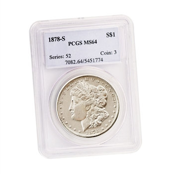 1878 Morgan Dollar - San Francisco - MS64