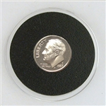 1987 Roosevelt Dime - PROOF in Capsule