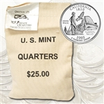 2005 California $25 Government Bag Philadelphia Mint Quarters – Uncirculated