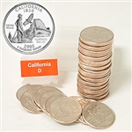 2005 California Quarter Roll - Denver Mint