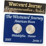 2005 Westward Buffalo Nickel - Mint Mark Set