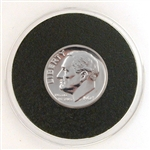 1964 Roosevelt Dime - SILVER PROOF in Capsule