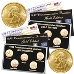 1999 Quarter Mania ( P & D ) Collection - Gold Edition