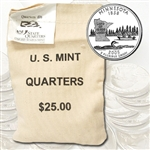 2005 Minnesota $25 Government Bag Denver Mint Quarters – Uncirculated
