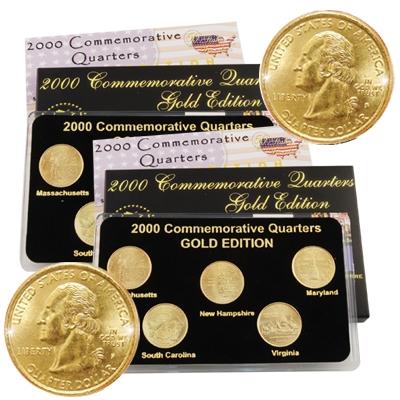 2000 Quarter Mania (P & D) Collection - Gold Edition