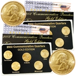2002 Quarter Mania ( P & D ) Collection - Gold Edition