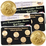 2003 Quarter Mania ( P & D ) Collection - Gold Edition
