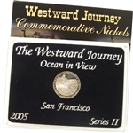 2005 Westward Ocean View Nickel - PROOF - Series II - Lens