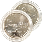 2005 Minnesota Uncirculated Quarter - Philadelphia Mint
