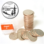 2005 Oregon Quarter Roll - Denver Mint
