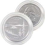 2005 Oregon Platinum Quarter - Denver Mint
