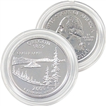 2005 Oregon Platinum Quarter - Philadelphia Mint
