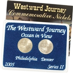 2005 Westward Ocean View Nickel - Mint Mark Set