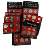 Eisenhower Dollar Black Box Proof Sets (1973-1981)