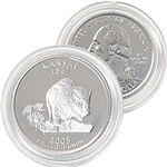 2005 Kansas Platinum Quarter - Denver Mint