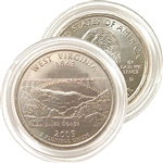 2005 West Virginia Uncirculated Quarter - Denver Mint