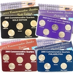 2005 Quarter Mania Uncirculated Set - Standard (4 Sets)