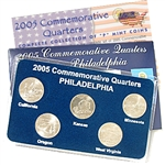 2005 Quarter Mania Uncirculated Set - Philadelphia Mint