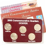 2005 Quarter Mania Uncirculated Set - Denver Mint