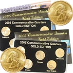 2005 Quarter Mania ( P & D ) Collection - Gold Edition