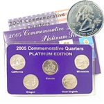 2005 Quarter Mania Uncirculated Set - Plat - P Mint