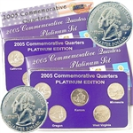2005 Quarter Mania ( P & D ) Collection - Platinum Edit