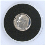 1972 Roosevelt Dime - PROOF in Capsule