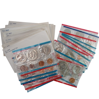 Silver Dollar Mint Sets - 1973 to 1981