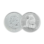2006 Canadian $5 Silver Wolf - Uncirculated