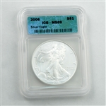 2006 Silver Eagle - ICG- Certified 69