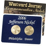 2006 Return to Monticello Nickels - Mint Mark Set